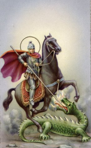 the life and sainthood of saint george April 23 marks the saint's day of england's patron saint st george  very little is  known about his early life but it is believed he was born to a.