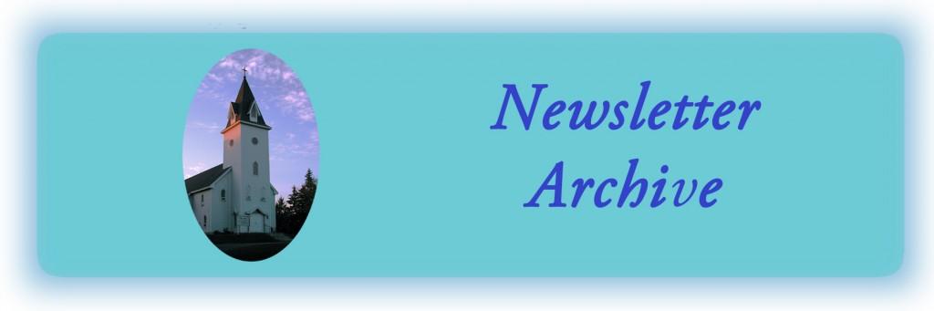 Banner newsletter archive