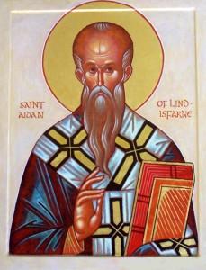 st aidan parish icon
