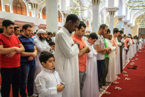 moslems-at-prayer