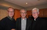 Tim, Steve, Fr. Ross