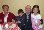 Spruce, Marsha and grandchildren