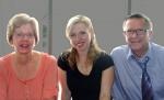 Ellen with Faye and Wayne
